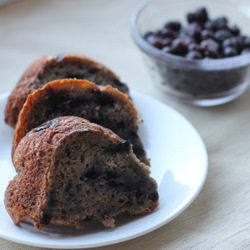 Healthy Blueberry Banana Cake Recipe