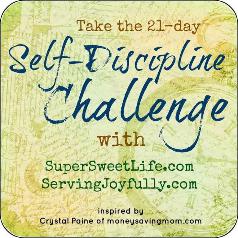 21 Day Self Discipline Challenge