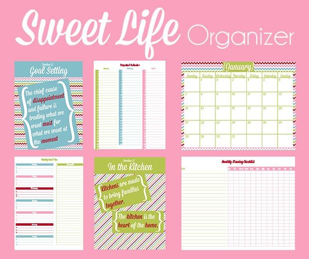 Sweet Life Organizer