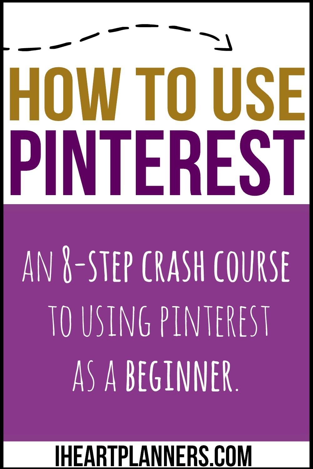 New to Pinterest? Here is a quick, 8-step crash course in everything Pinterest for beginners. This easy to follow guide includes a video to walk you through using Pinterest. A must for any newbie!