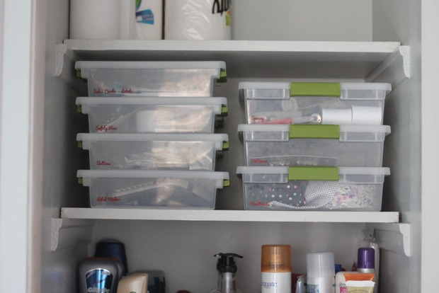 This Shelf Has My Favorite Organizing Tool, These Little Containers From  Target: