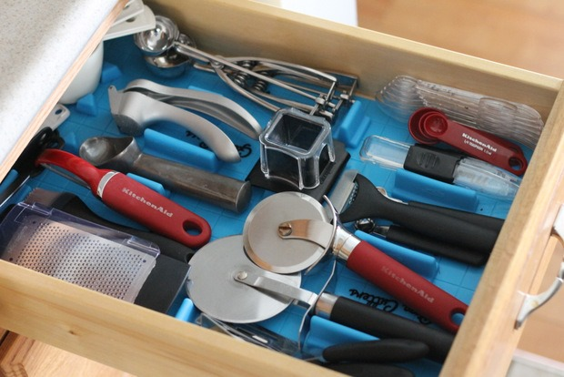 Kitchen Utensil and Drawer Organizing
