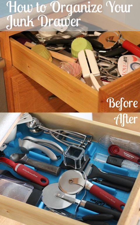 Kitchen utensil and drawer organizing i heart planners How to organize kitchen drawers
