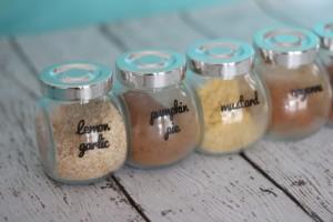 Organizing Kitchen Spices