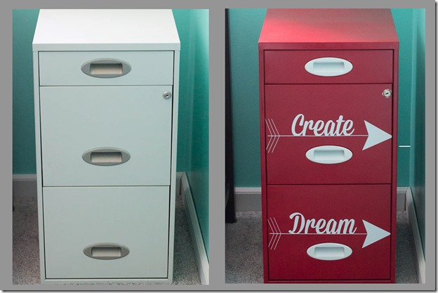 File Cabinet Makeover I Heart Planners