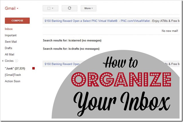 How to Organize Your E-mail Inbox