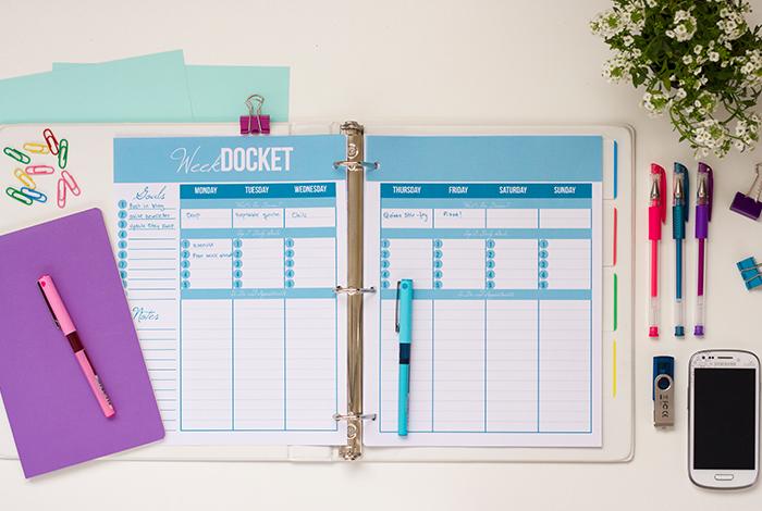 2014 – 2015 Sweet Life Printable Planner