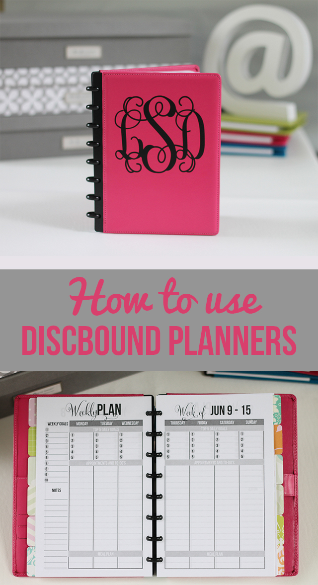 picture about Discbound Planner Pages Printable called How towards Retain the services of Discbound Binders and Planners - I Centre Planners