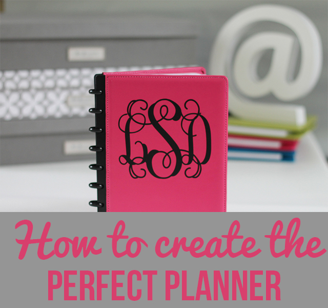 Creating Your Own Planner – Start with the Basics