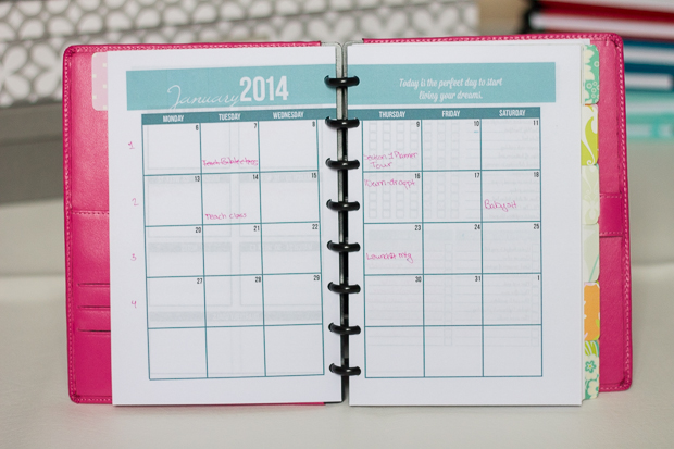 Create Your Own Planner - My 2014 Planner - I Heart Planners