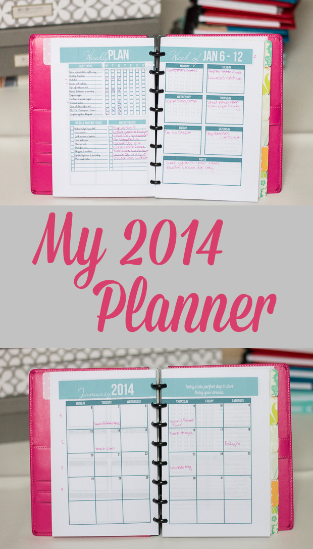 Create Your Own Planner – My 2014 Planner