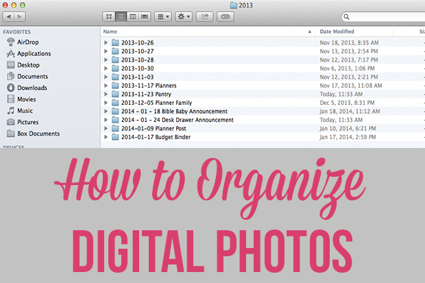 Tips to Keep Your Digital Photos Organized - Techlicious