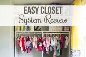 Easy Closet System Review