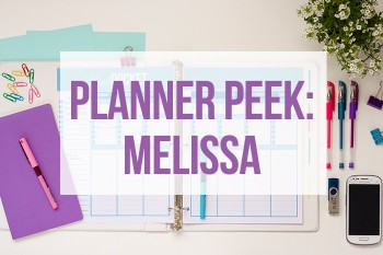 Take a tour of Melissa's Planner!
