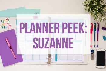 Take a tour of the inside of this planner!