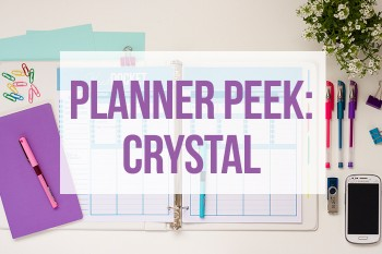 Take an inside look at Crystal's Planner.