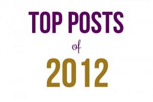 Top Posts of 2012