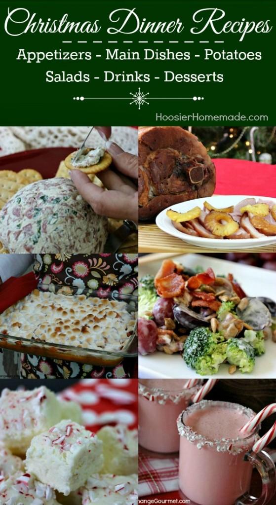 Christmas Dinner Ideas and Free Holiday Menu Planner Printable