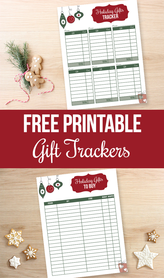 Clean image in printable christmas gifts
