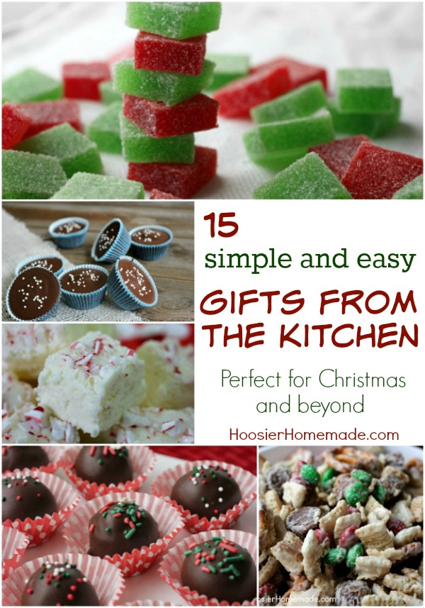 Holiday gift ideas that you can create in your own kitchen - perfect for small neighbor gifts or teacher gifts.