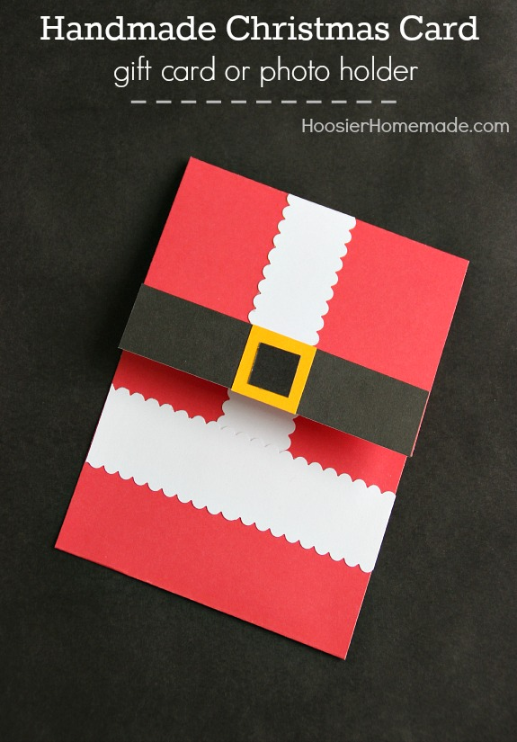 Simple DIY Handmade Christmas Card