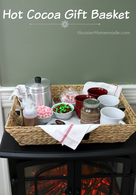Hot Cocoa Gift Basket Idea