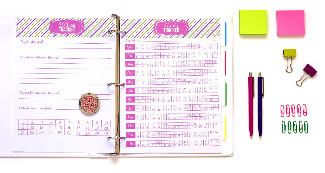 graphic about Printable Life Planner known as 2018 Adorable Lifetime Planner - I Middle Planners