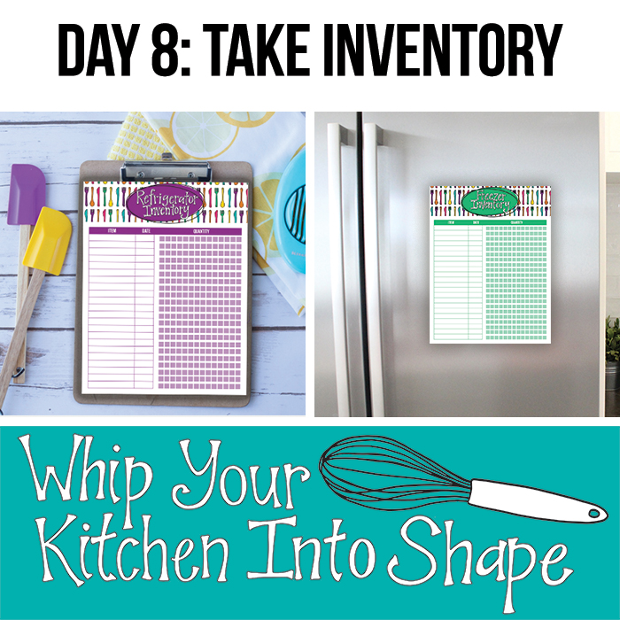Take a pantry and freezer inventor to stay organized and streamline meal planning (includes printable).