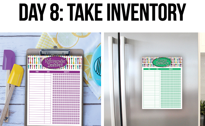 Pantry and Freezer Inventory