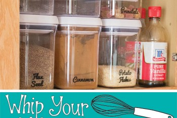Organize Baking Supplies