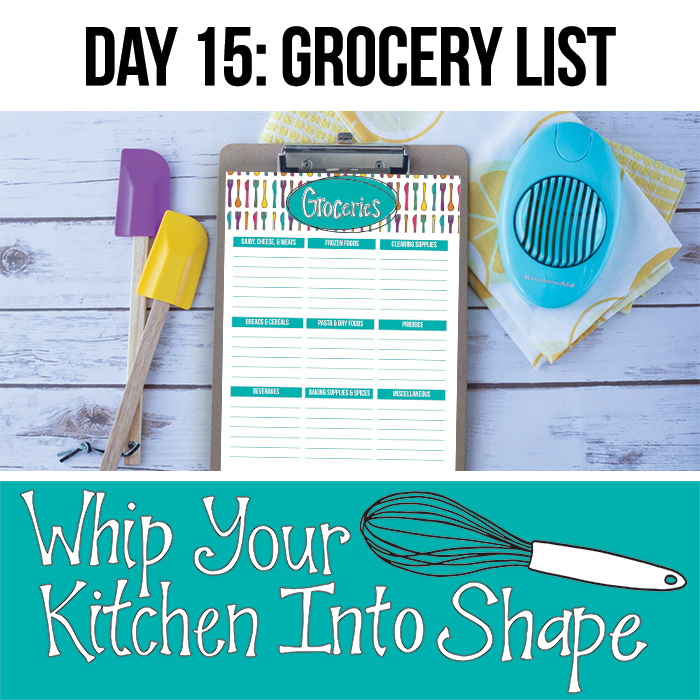 Meal Plan and Grocery List