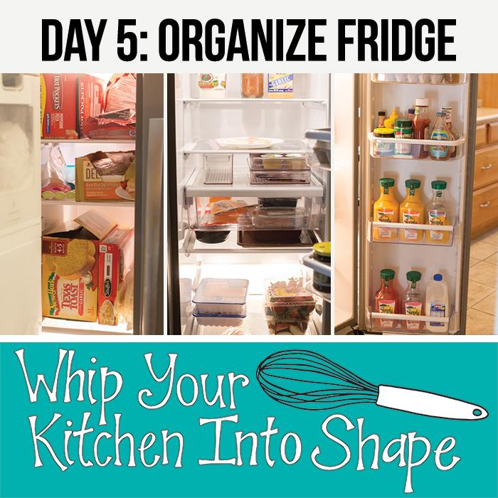 Organize refrigarator and freezer