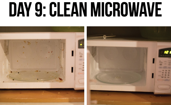 how to clean a microwave with vinegar pinterest