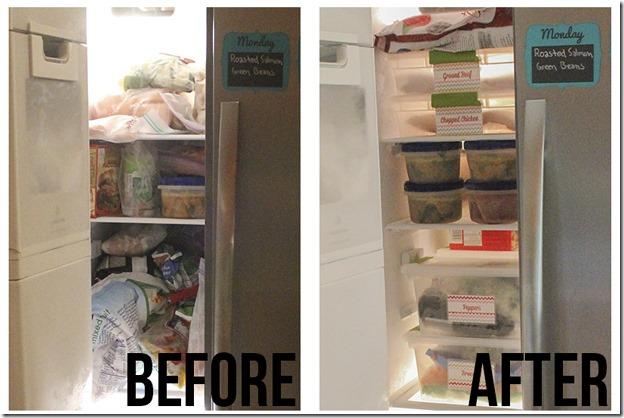 Organize the Freezer