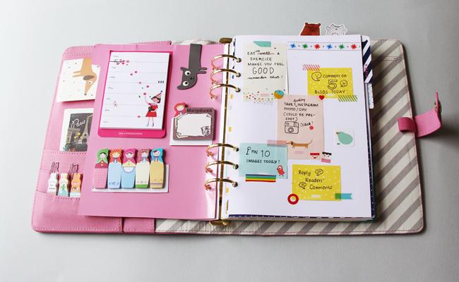 Kikki K Pink Planner