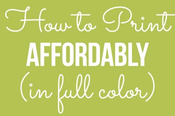 How to print in full color on a budget. I explain how I'm able to print in color using brand new manufacturer ink cartidges for just 3 cents a page (in full color)!
