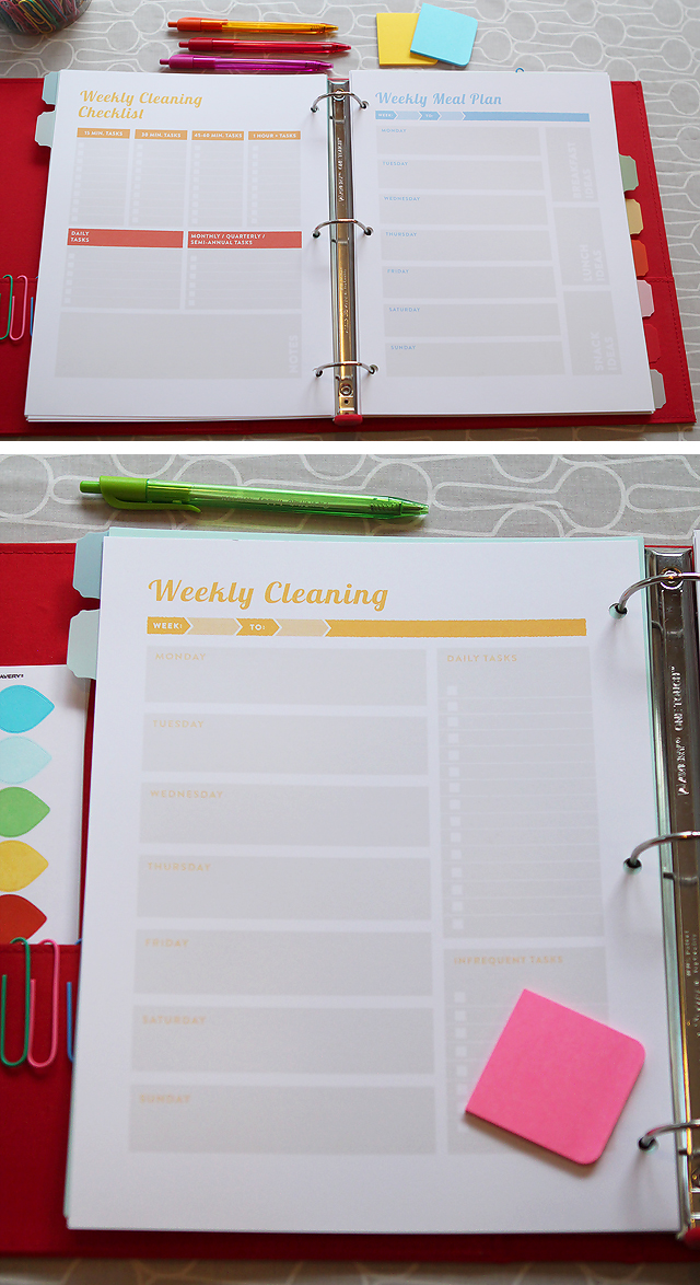 Project Organize Your Entire Life printables pack included the Ultimate Homemaking Bundle, which has tons of resources to help you organize your life and improve your homemaking skills.