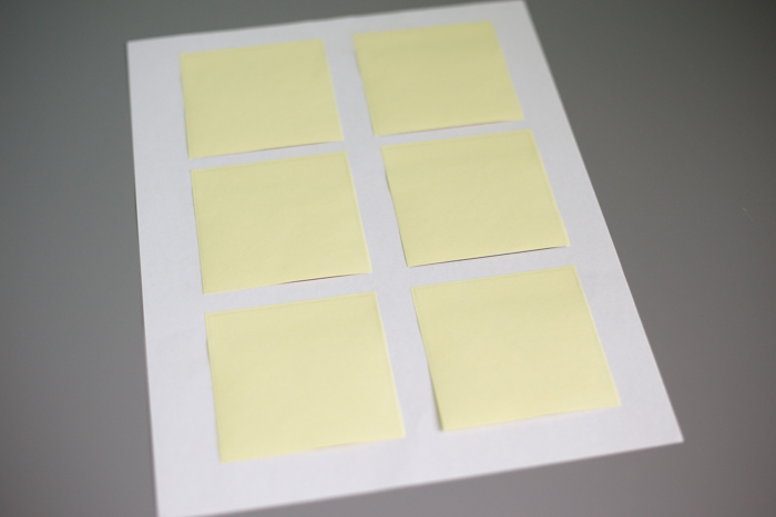 how to print on sticky notes i heart planners. Black Bedroom Furniture Sets. Home Design Ideas