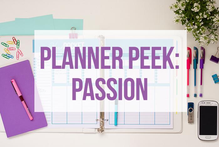 Planner Peek: Passion