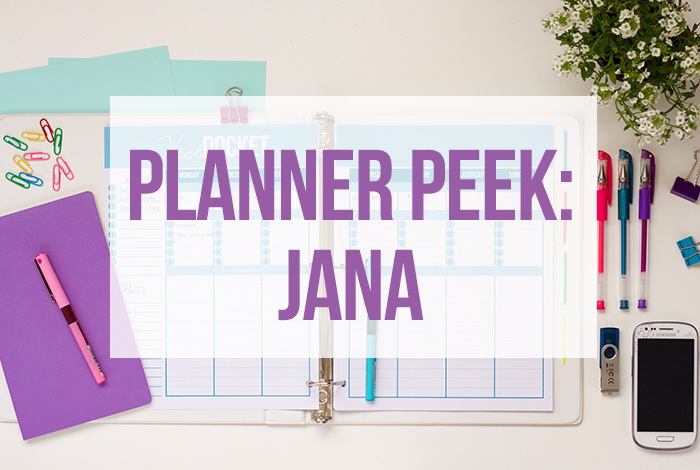 Planner Peek: Jana