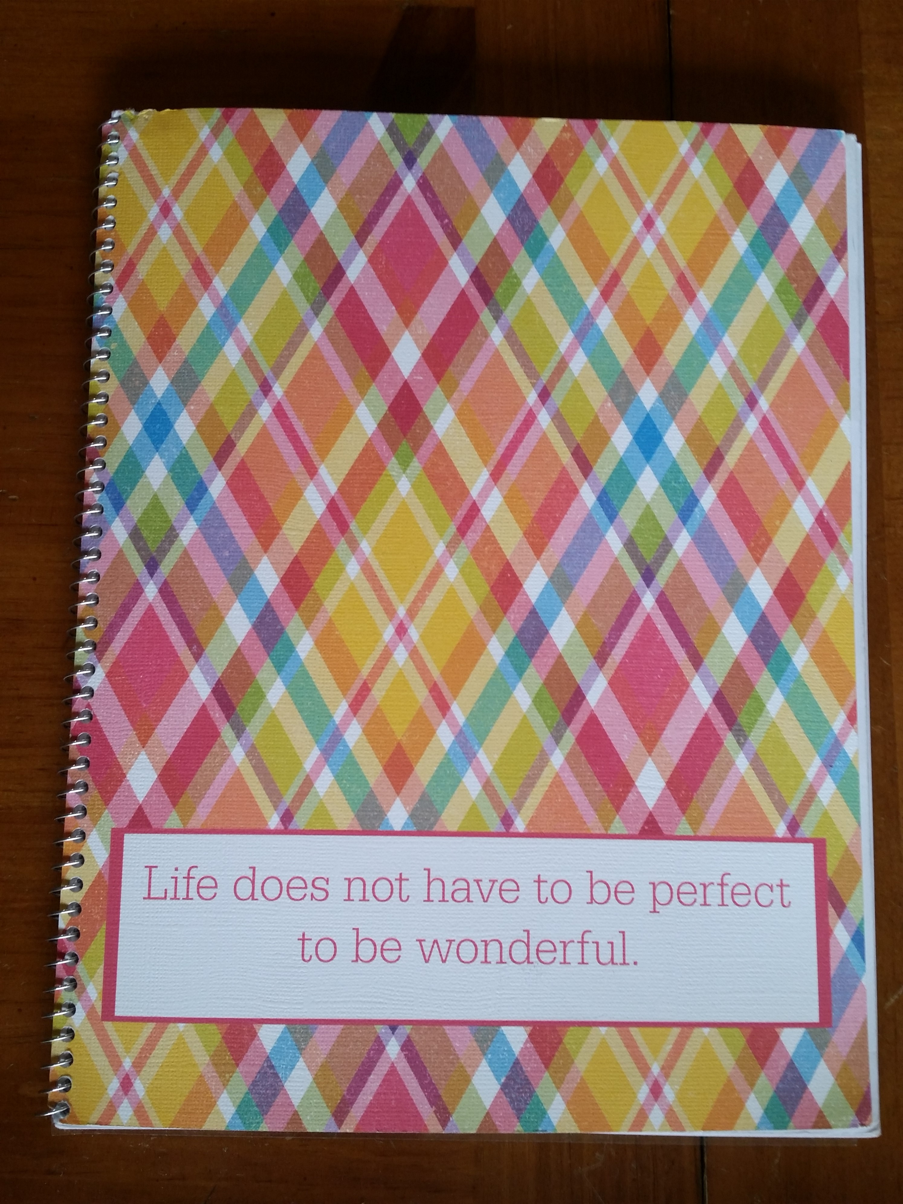 DIY Planner Front Cover
