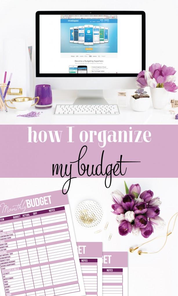 How I organize my budget (using my favorite digital budgeting system).