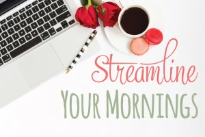 Streamline Your Mornings Challenge