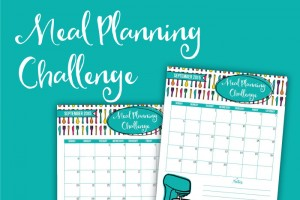 Meal Planning Challenge