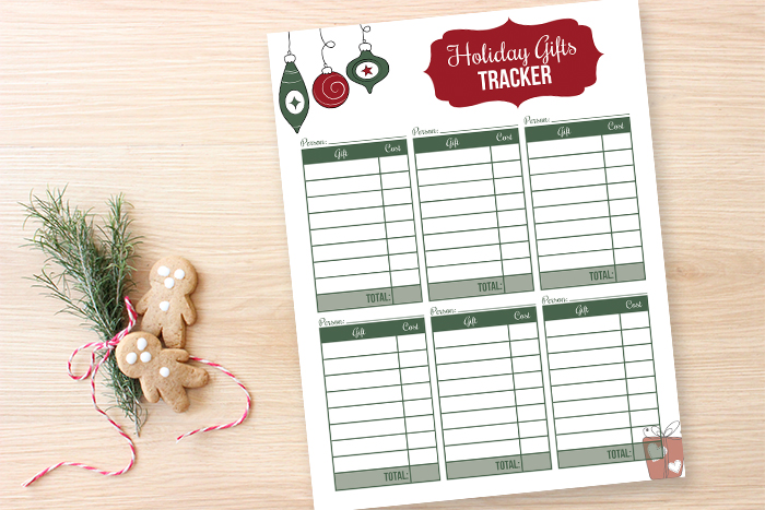 New Printable Holiday Planner - I Heart Planners