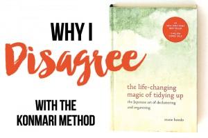 5 Reasons I Disagree with the KonMari Method