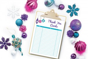Free Printable Thank You Card Tracker
