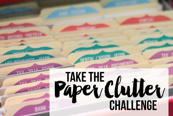 Are you overwhelmed by paper clutter? Let's organize our paper clutter starting today. In the paper clutter challenge, I'll break it down into a manageable, step by step process to help us get our paper clutter under control.