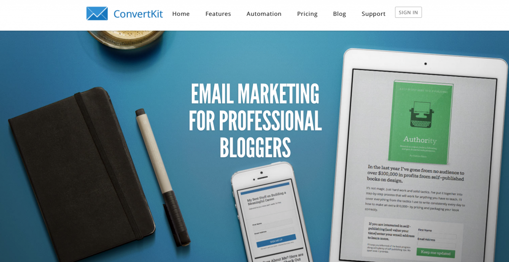 ConvertKit - My favorite email marketing system