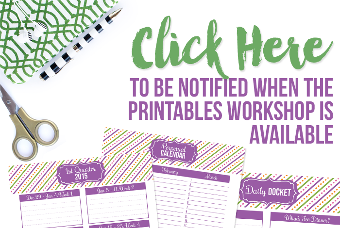 Live workshop teaching you how to create your very own printables brought to you by I Heart Planners